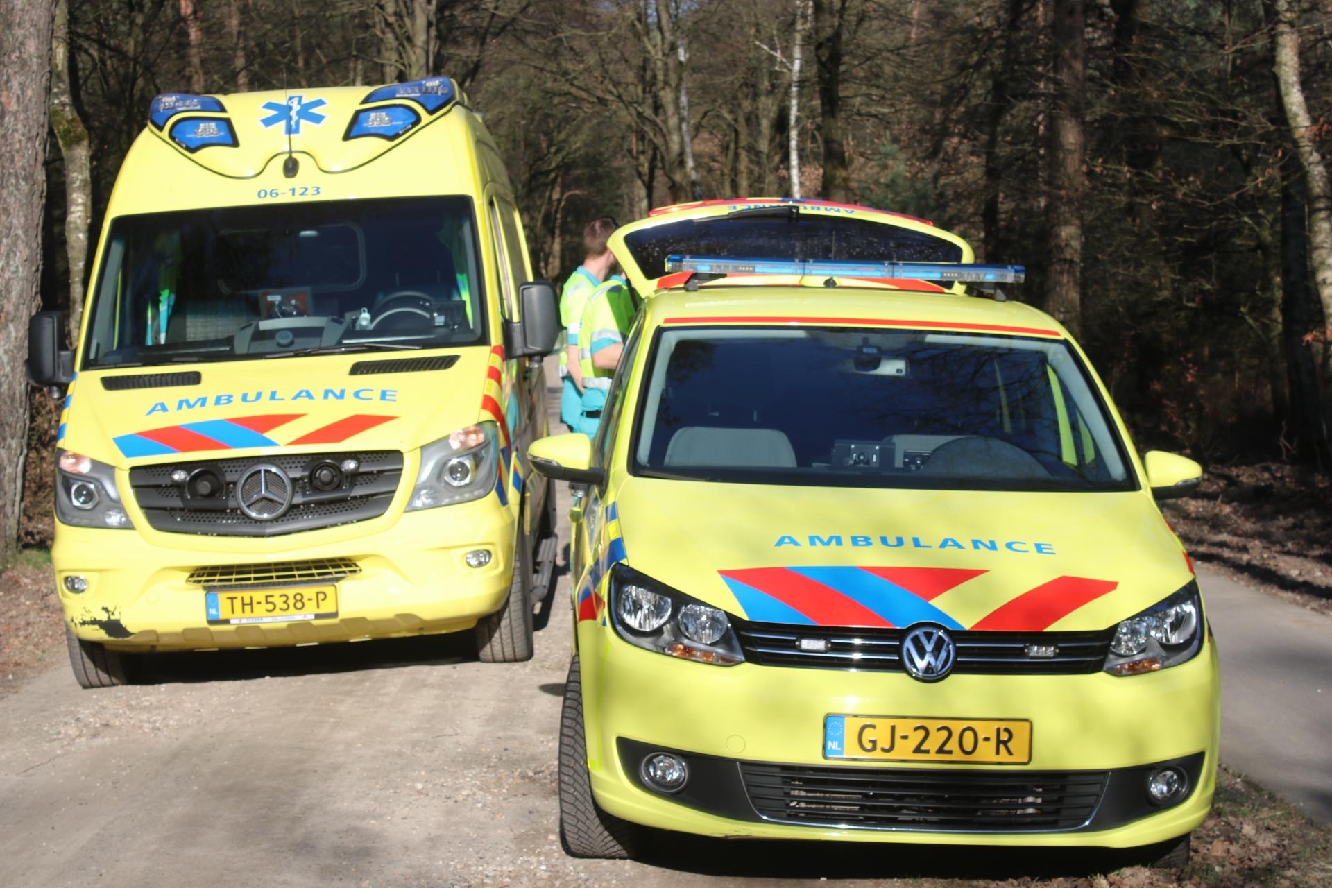 Fietsers gewond na botsing in Nijkerk