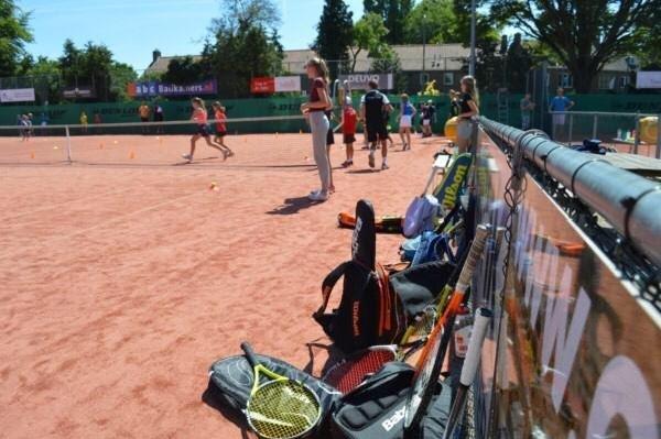 Tennis in het hart van de stad