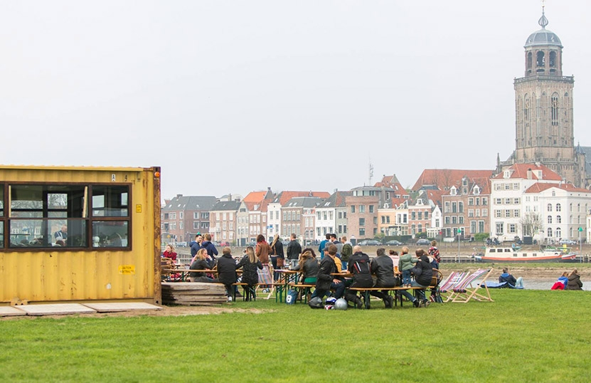 BBQ outdoorcooking Deventer Stadsstrand