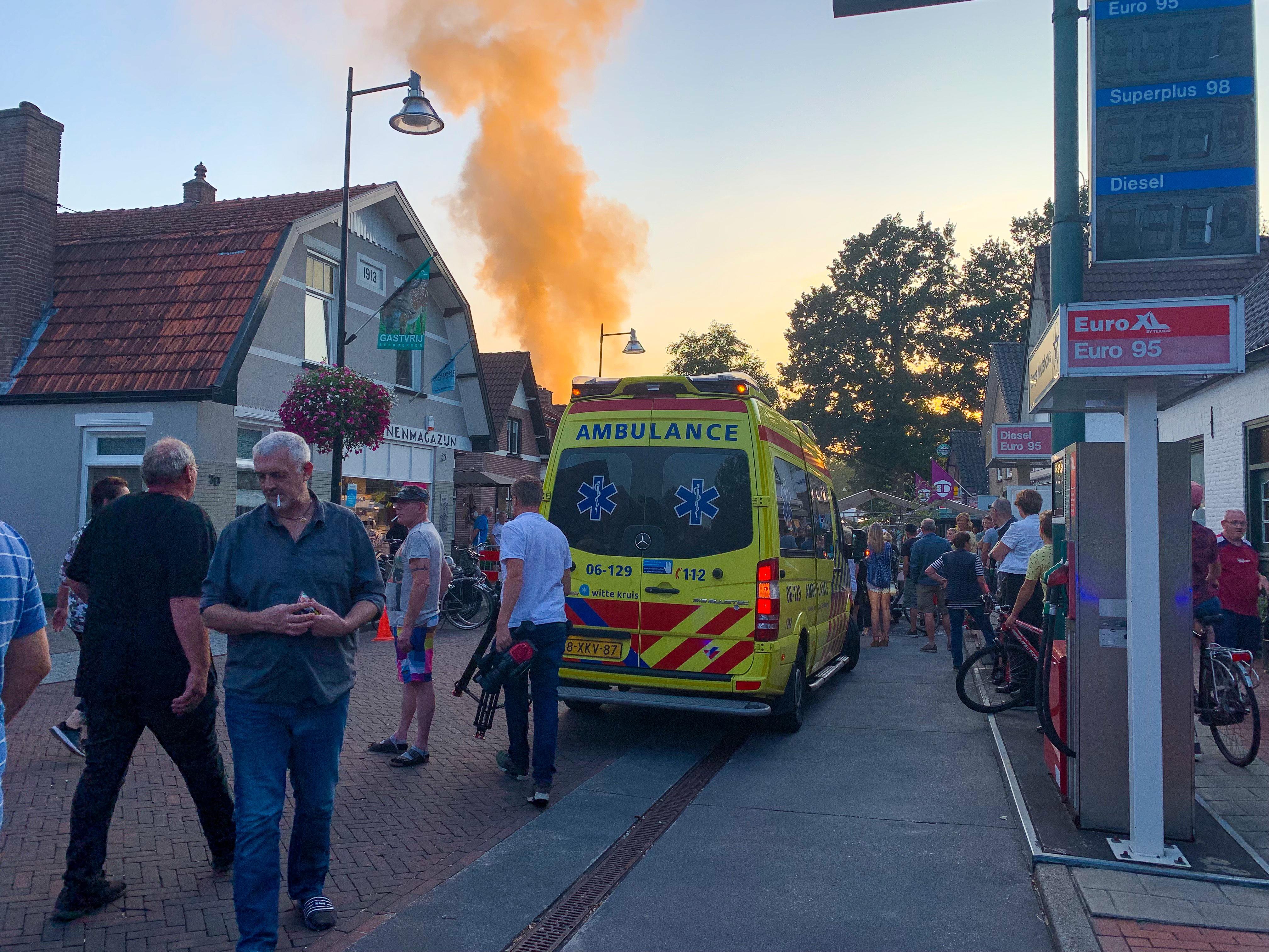 Man 44 aangehouden na brand in Beekbergen