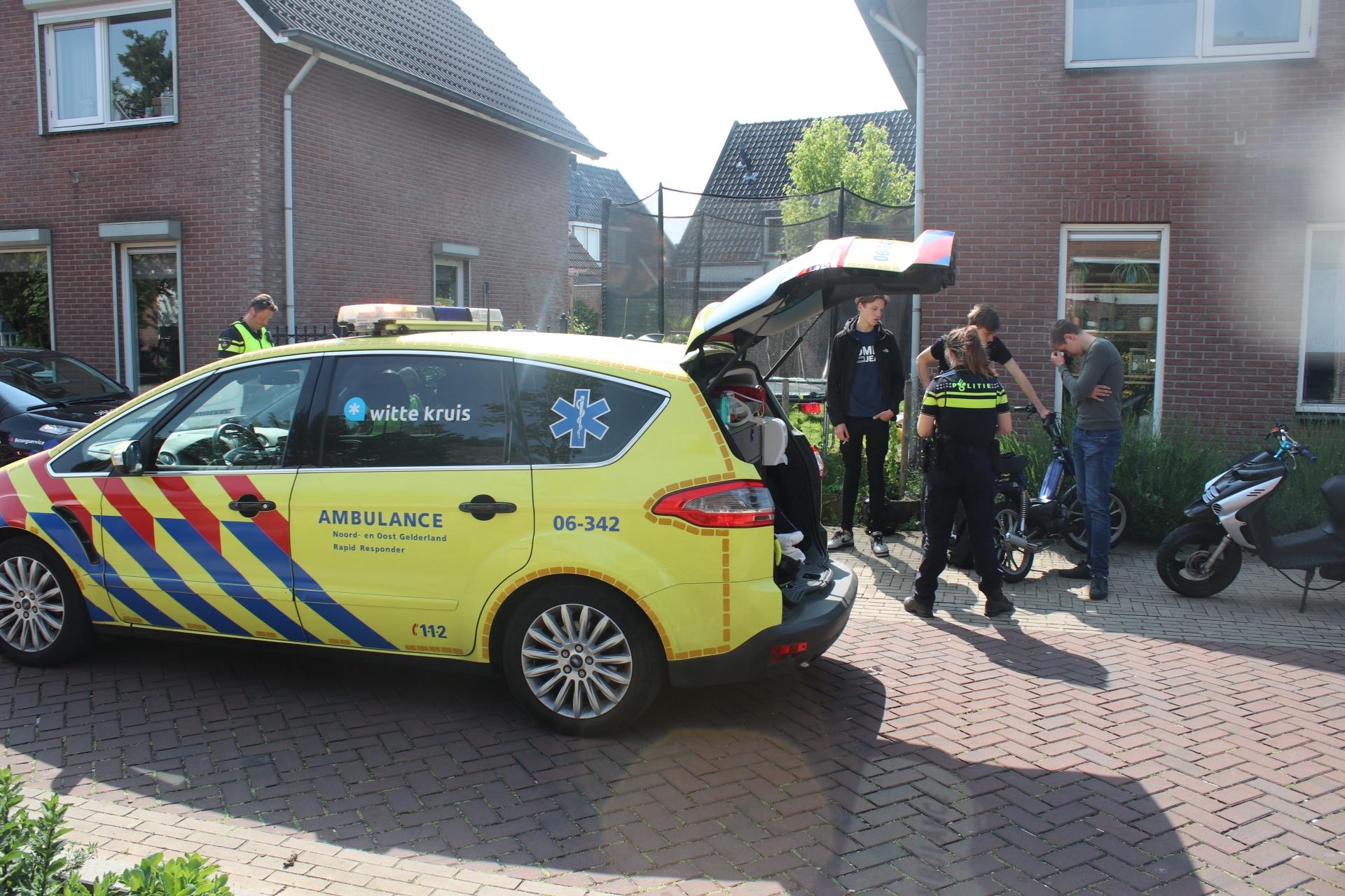 Ongeval in de Sperwerlaan in Apeldoorn