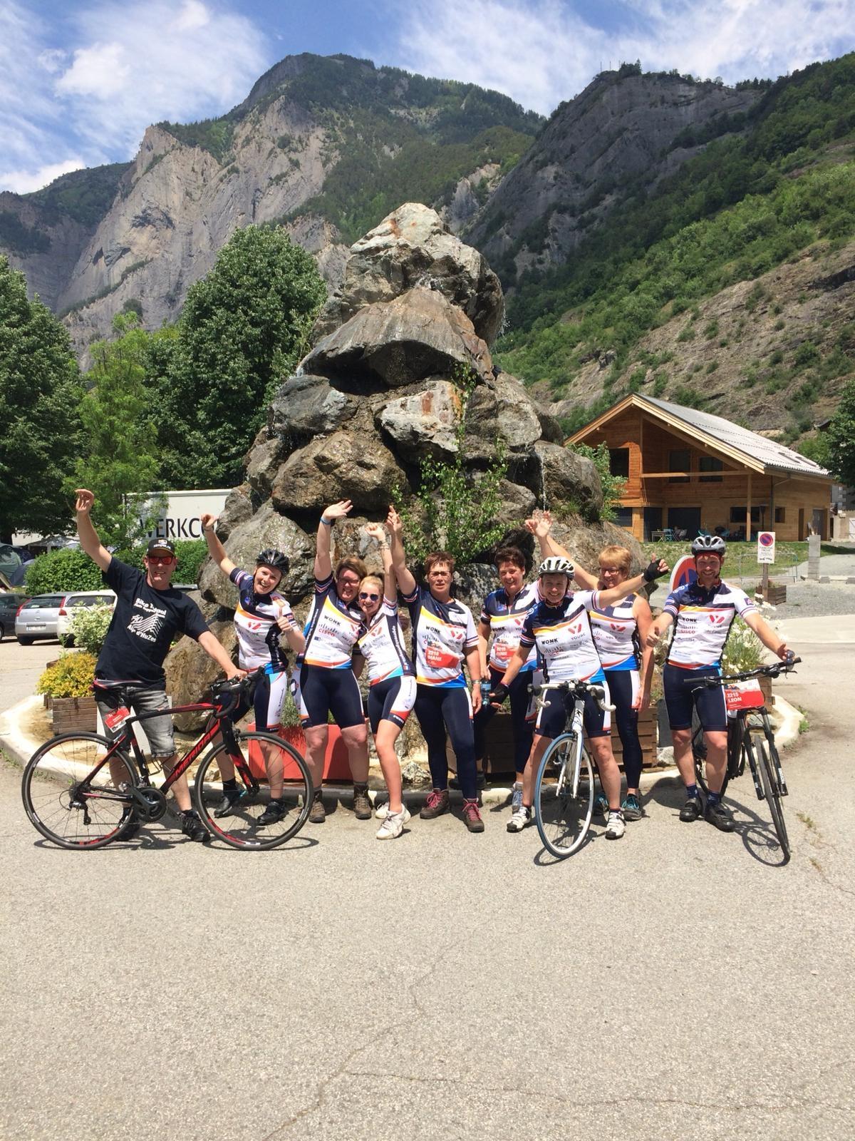 Team Klarenbeek naar de Alpe d'Huzes