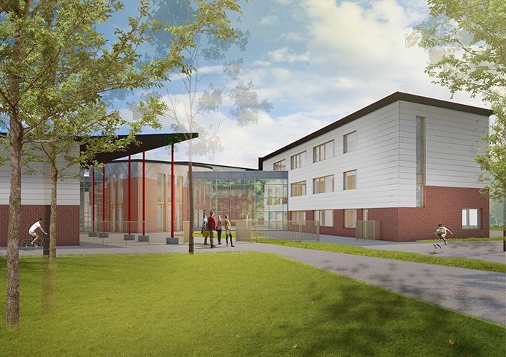 Nieuwe vleugel Vrijeschool in gebruik