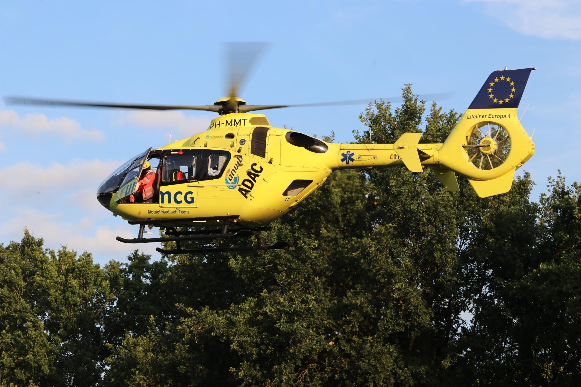 Jongetje raakt ernstig gewond; traumahelikopter ingezet.