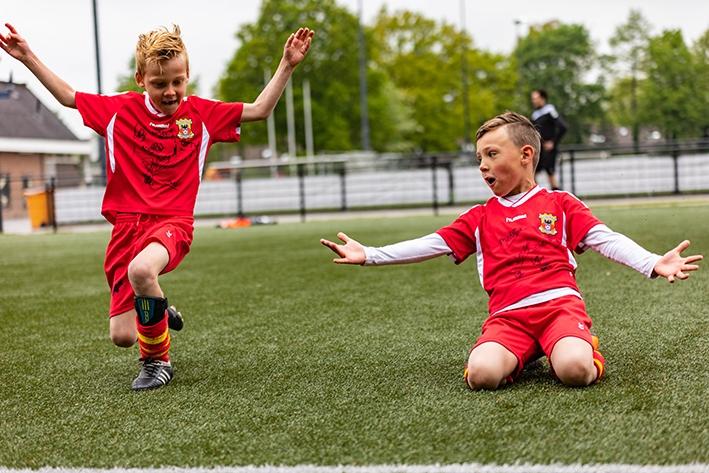 Plezier in voetbal staat voorop