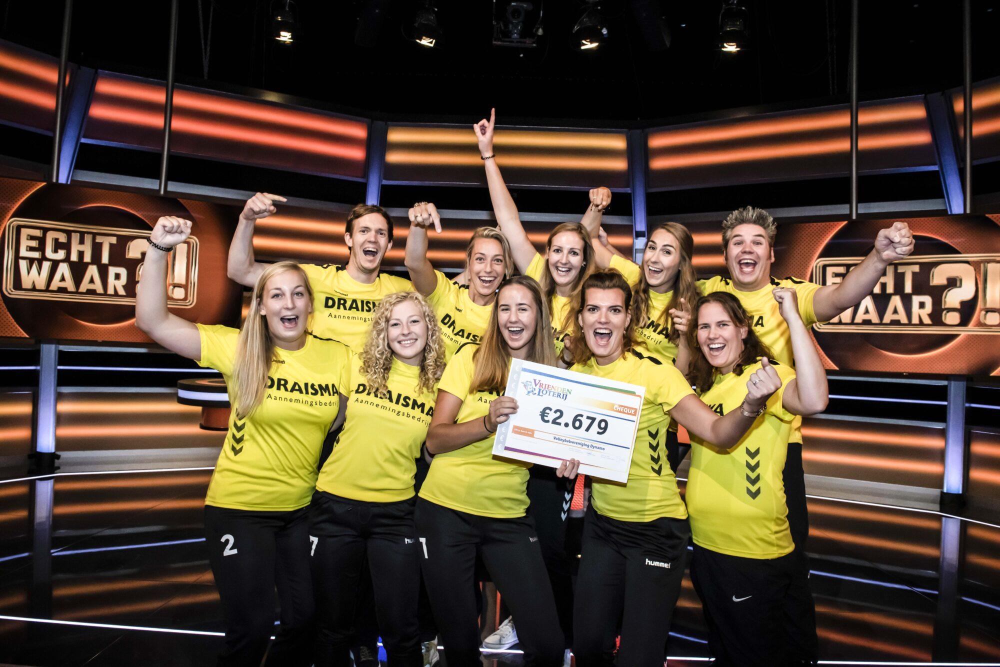 SV Dynamo wint 2.679 euro in SBS6-programma