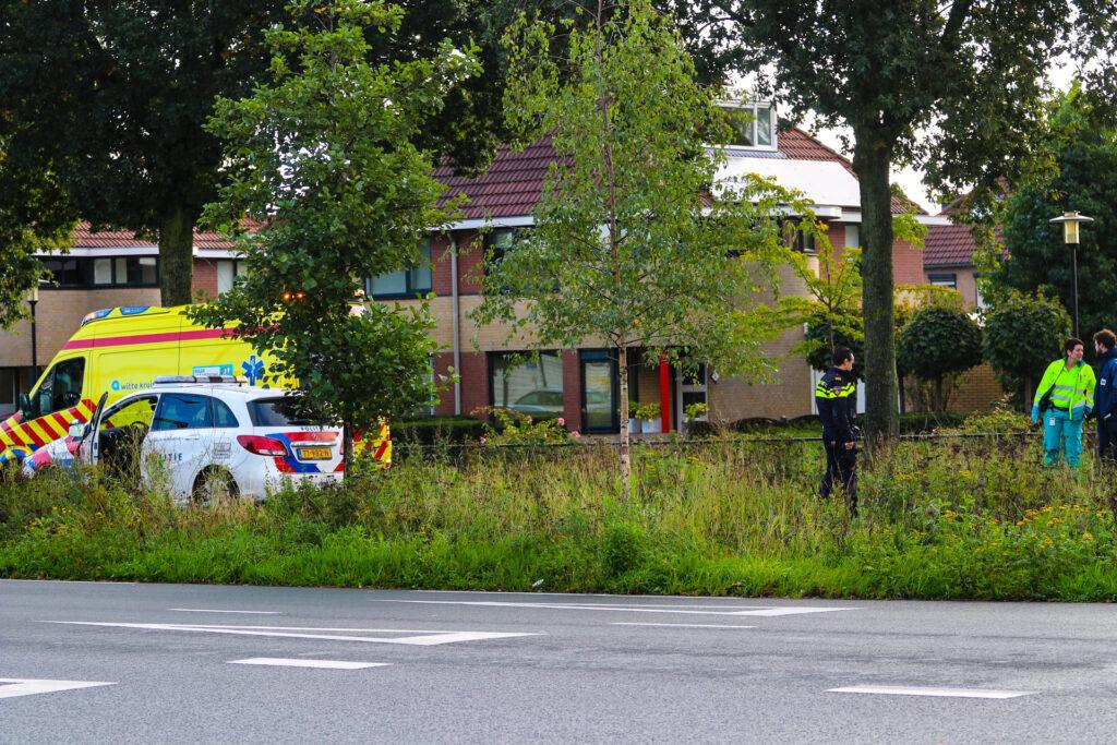 Vier voertuigen betrokken bij aanrijding Laan van Osseveld.