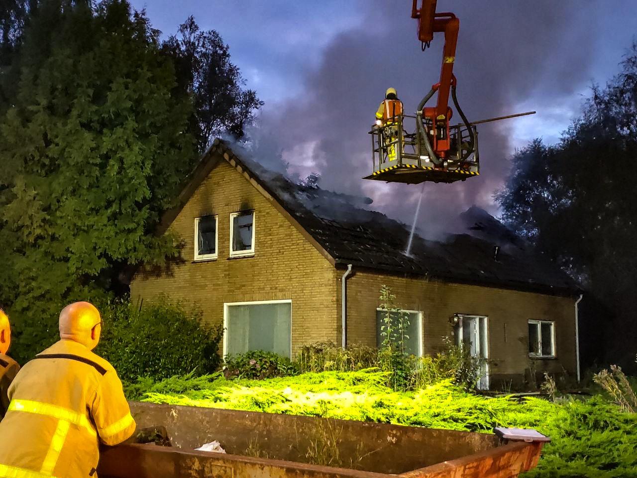 Grote brand in woning Vaassen