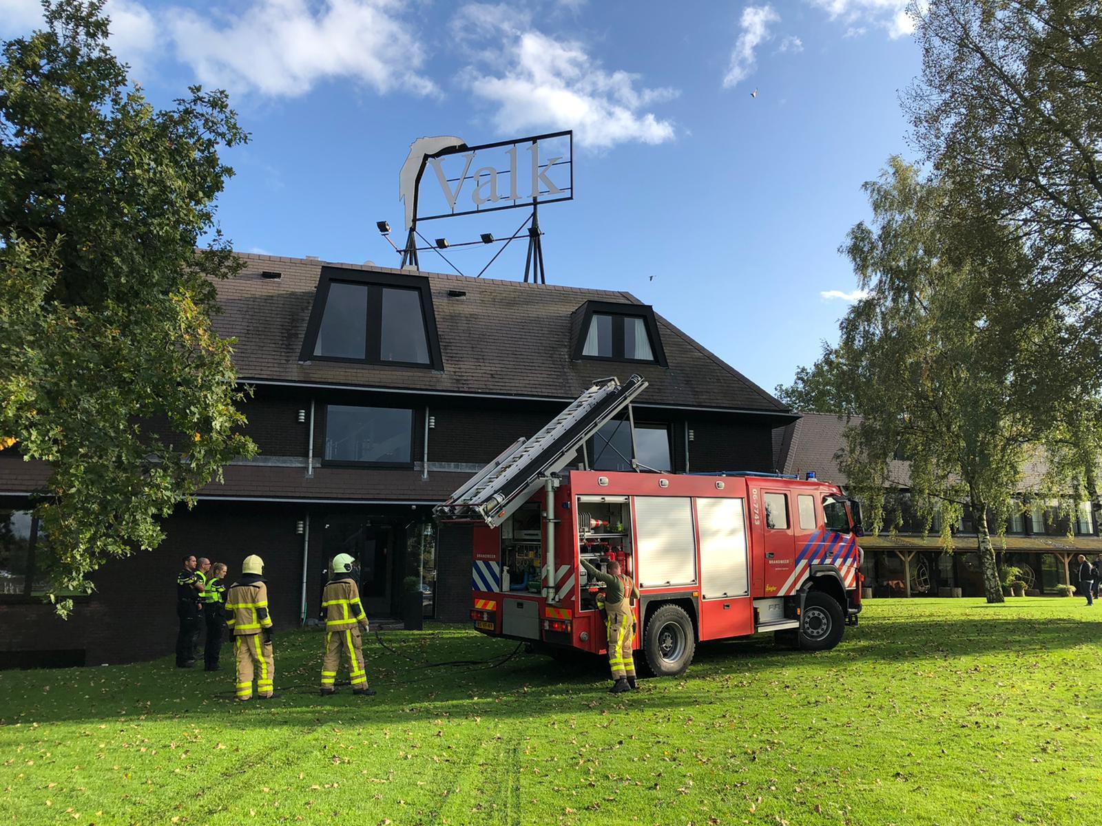Brand bij Van der Valk Cantharel; pand werd snel ontruimd