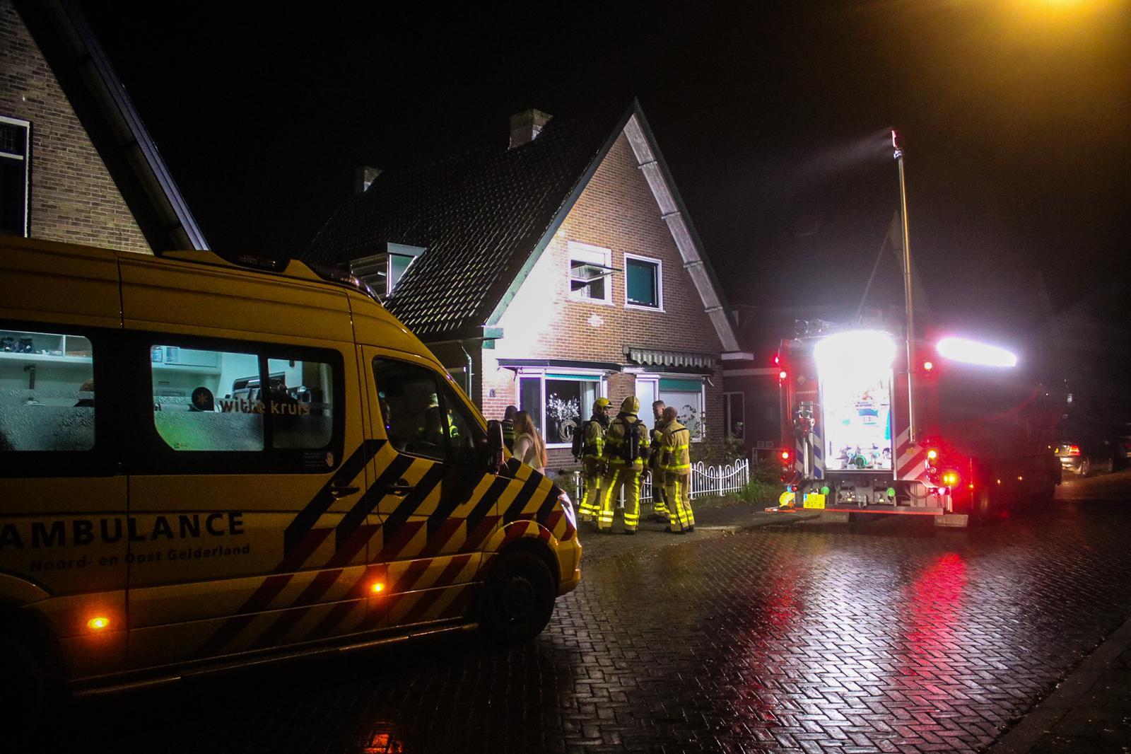 Meterkast vliegt in de brand; woning loopt brandschade op
