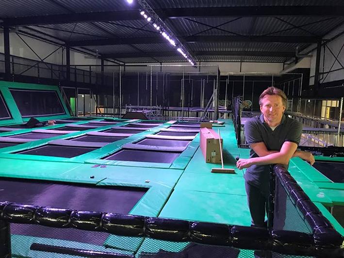 Tien area's met vijftig trampolines