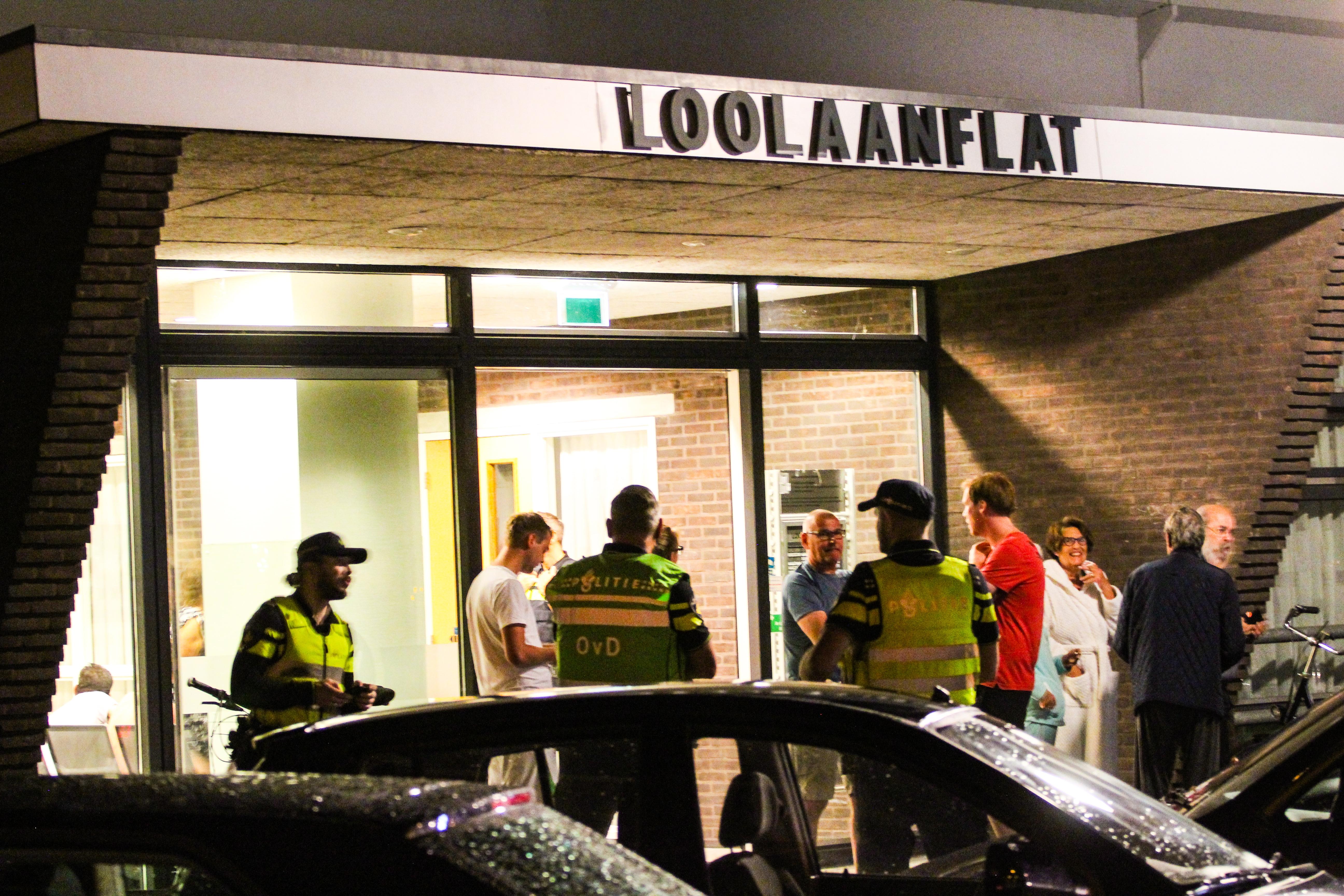Twee gewonden bij brand in flat Loolaan