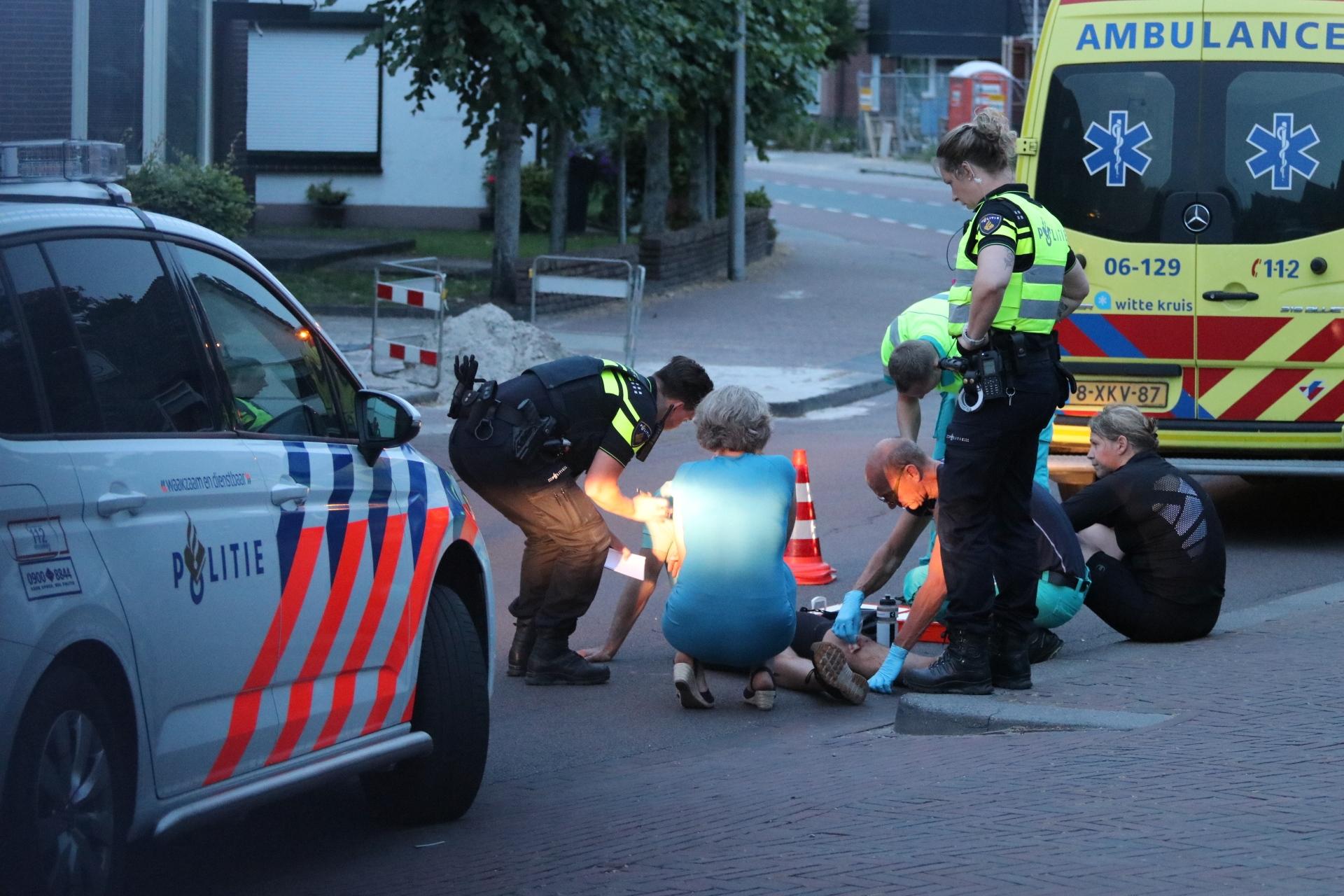 Fietser gewond bij ongeval met auto in Ugchelen