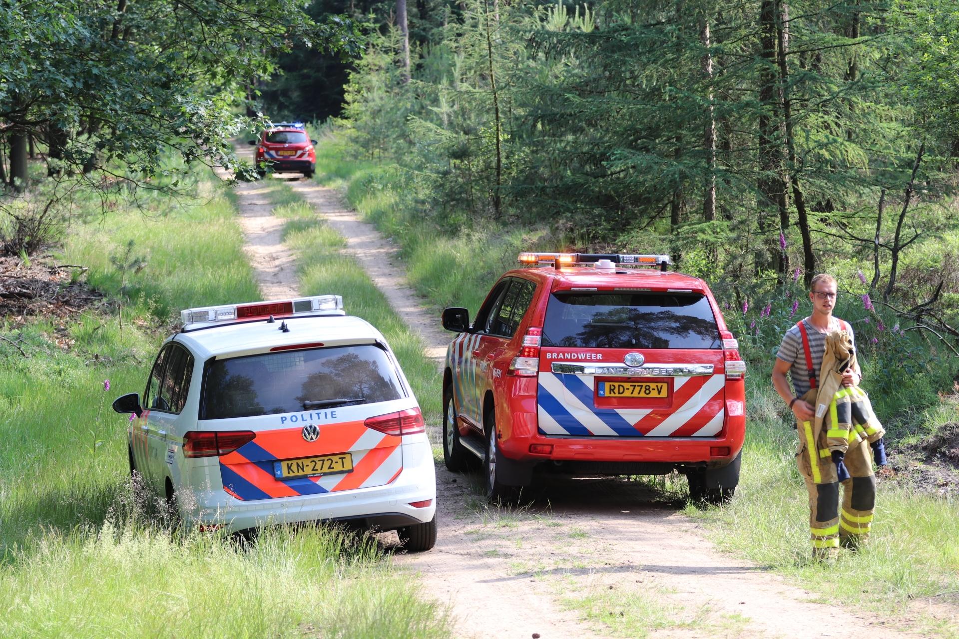 Vrouw aangehouden bij Heidebrand in Hoog Soeren