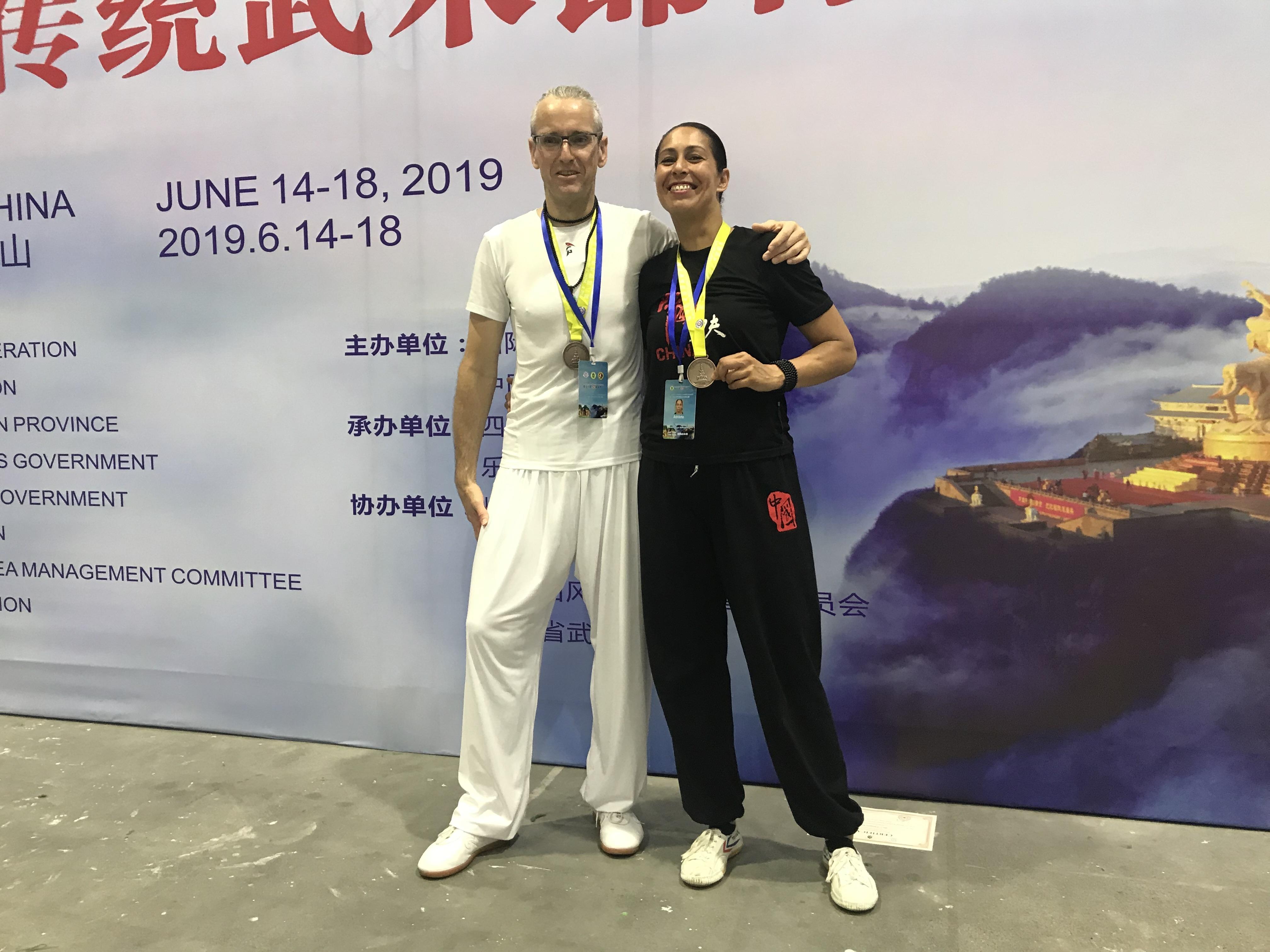 Apeldoornse atleten winnen brons op WK Chinese vechtsport