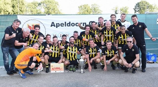 Columbia verrassende winnaar Apeldoorn Cup