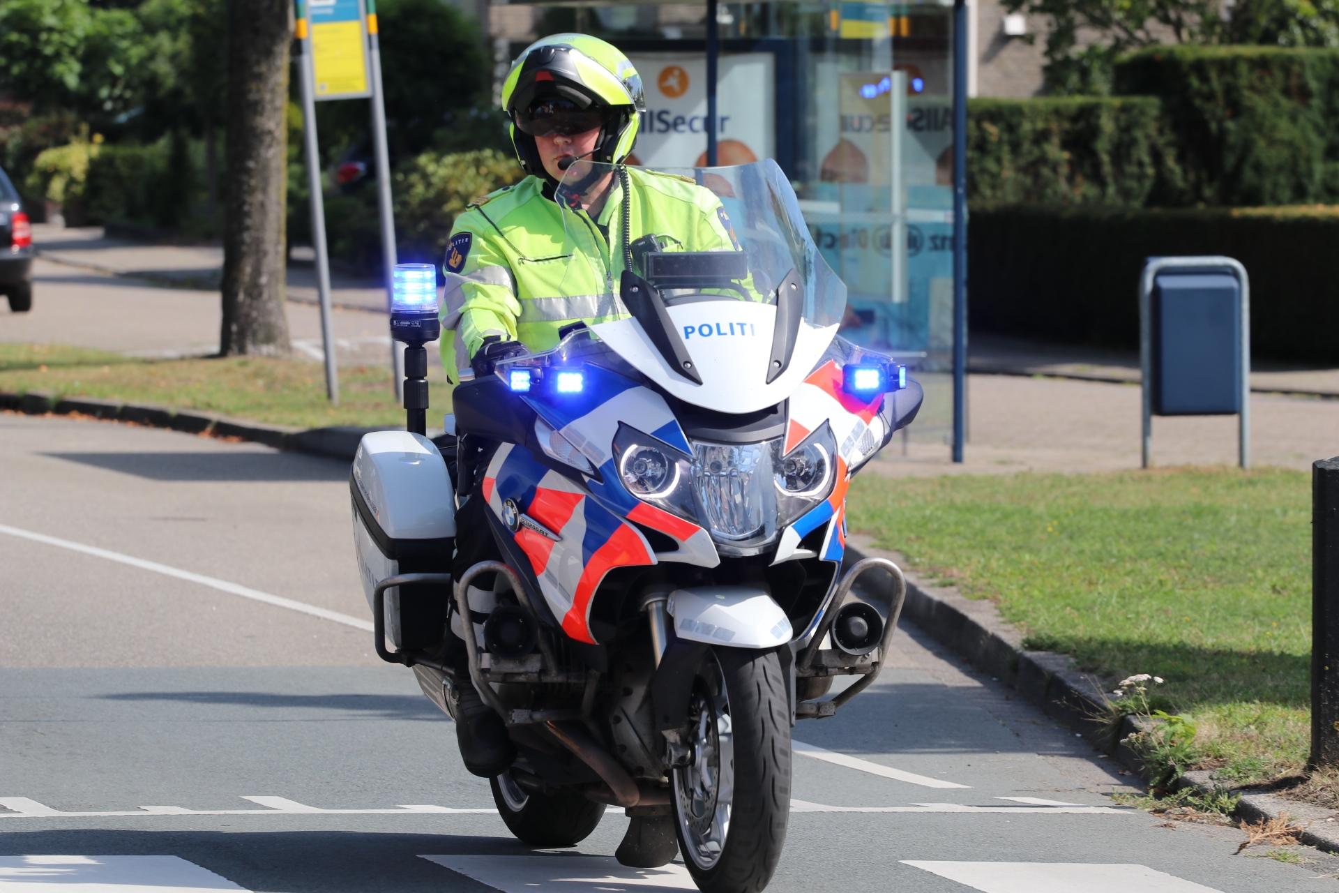 Motorrijder gewond bij ongeval op de A50