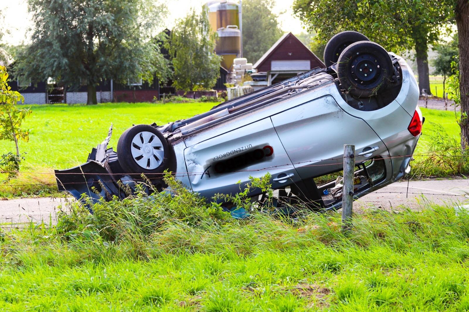 Zes gewonden bij ernstig ongeval in Uddel