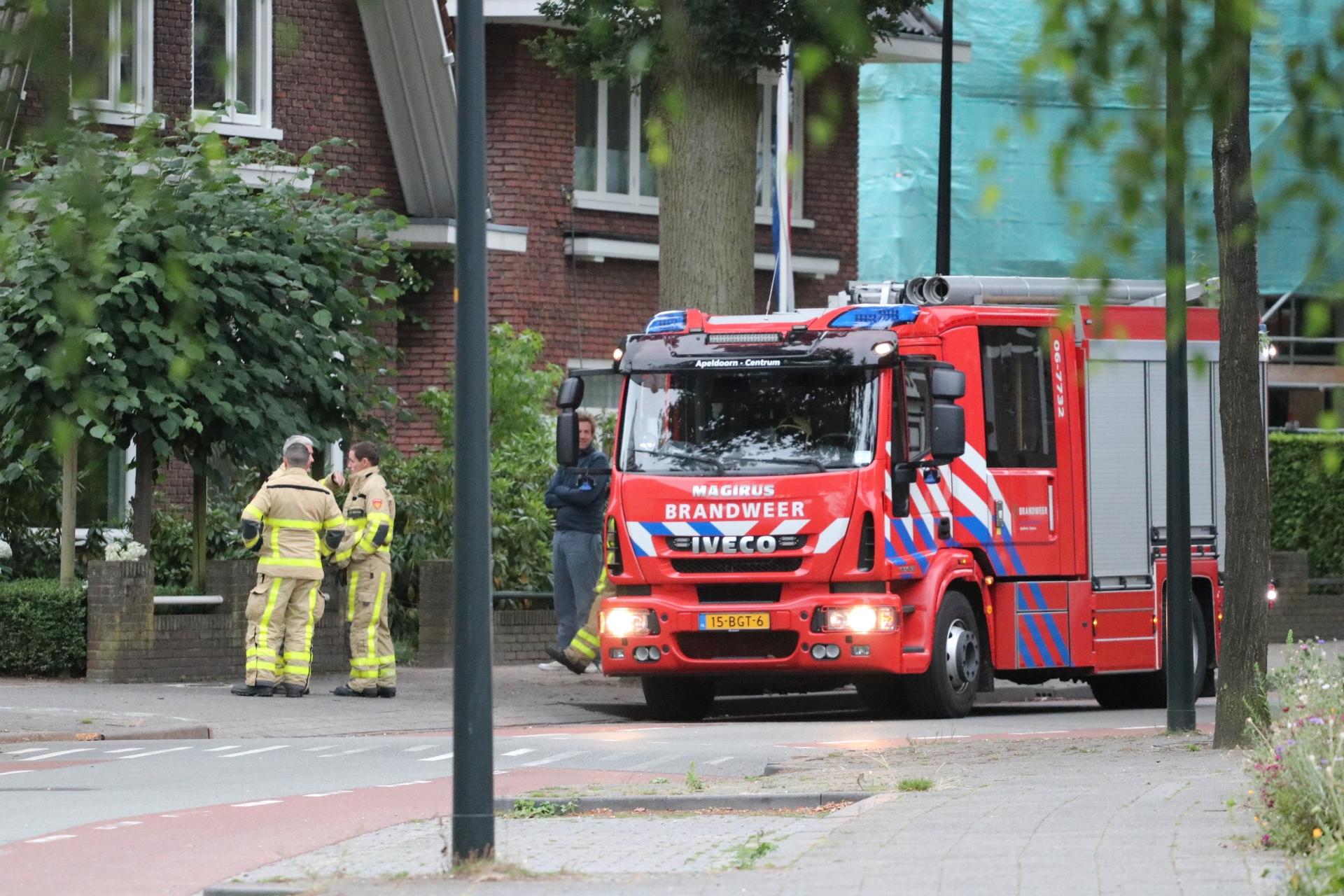 Gaslucht geroken bij woning Koninginnenlaan Apeldoorn