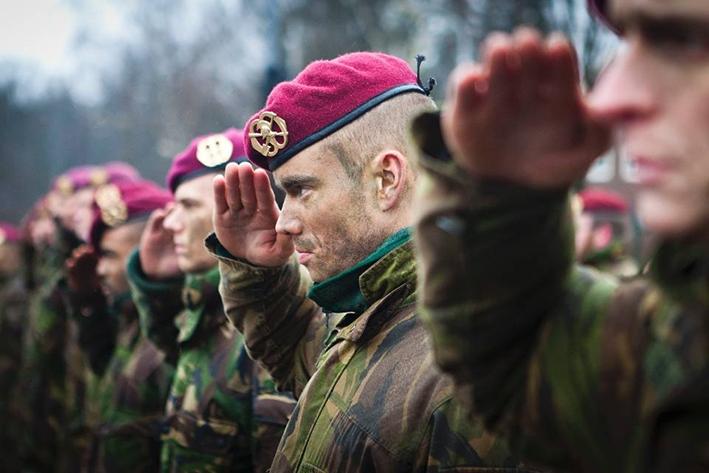 Koninklijke Landmacht oefent in Deventer