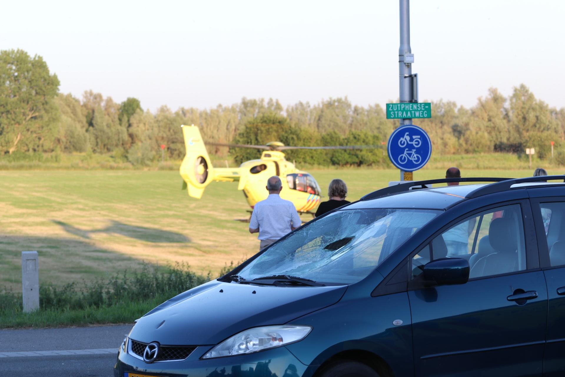 Fietser ernstig gewond na ongeval in Spankeren
