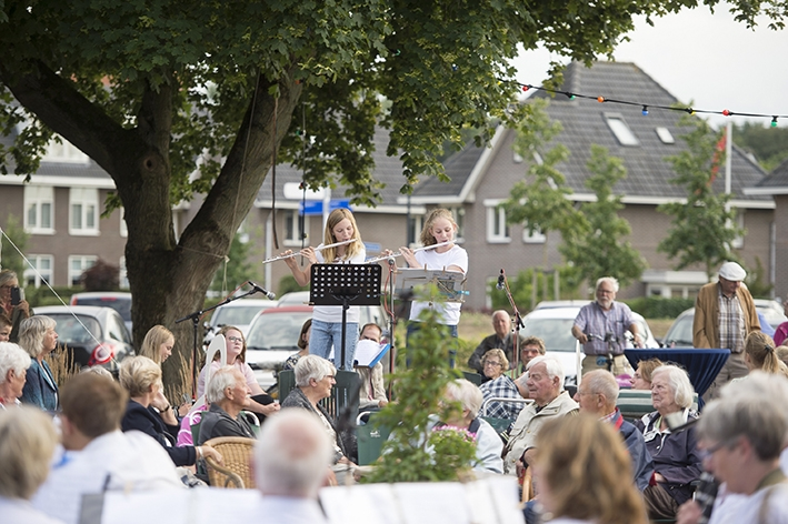 Concordia speelt op het plein