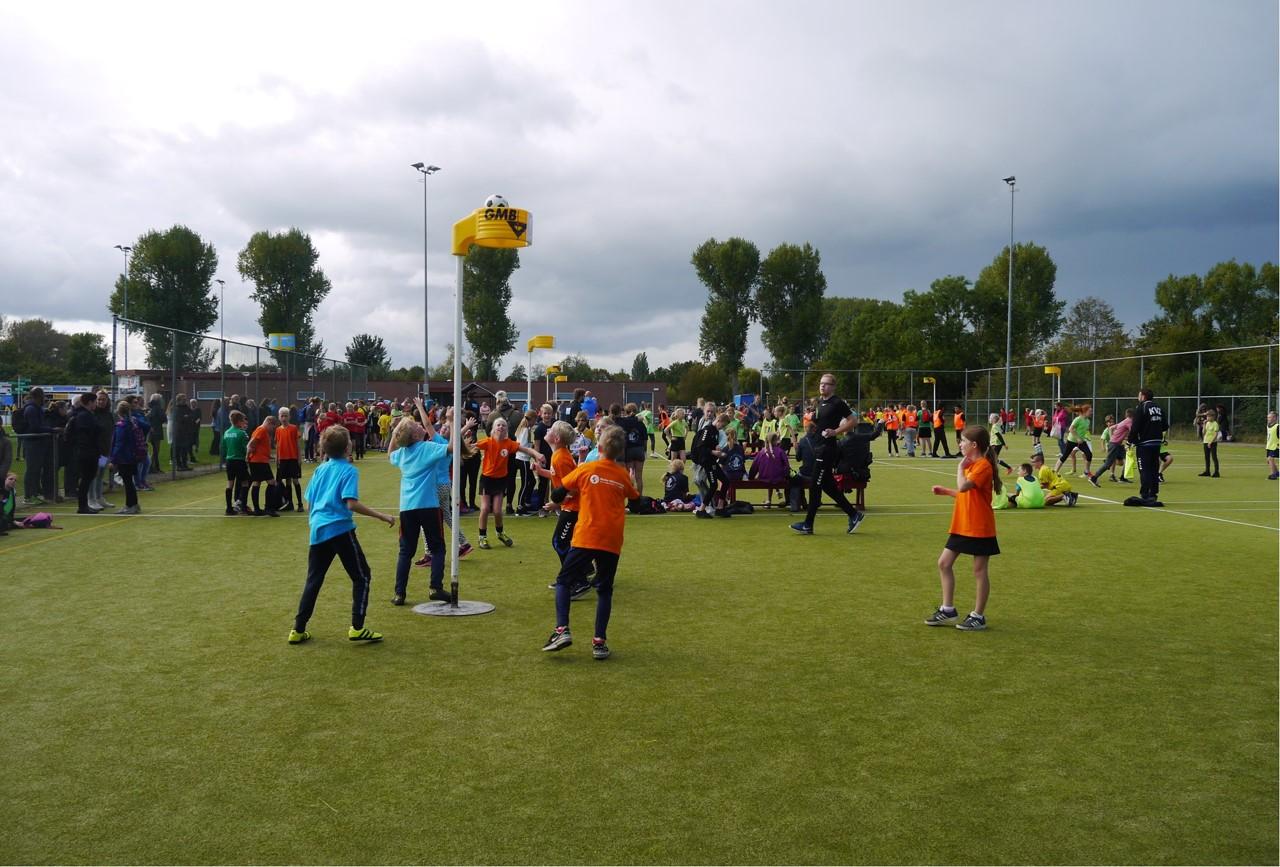 Schoolkorfbal weer sportief toernooi