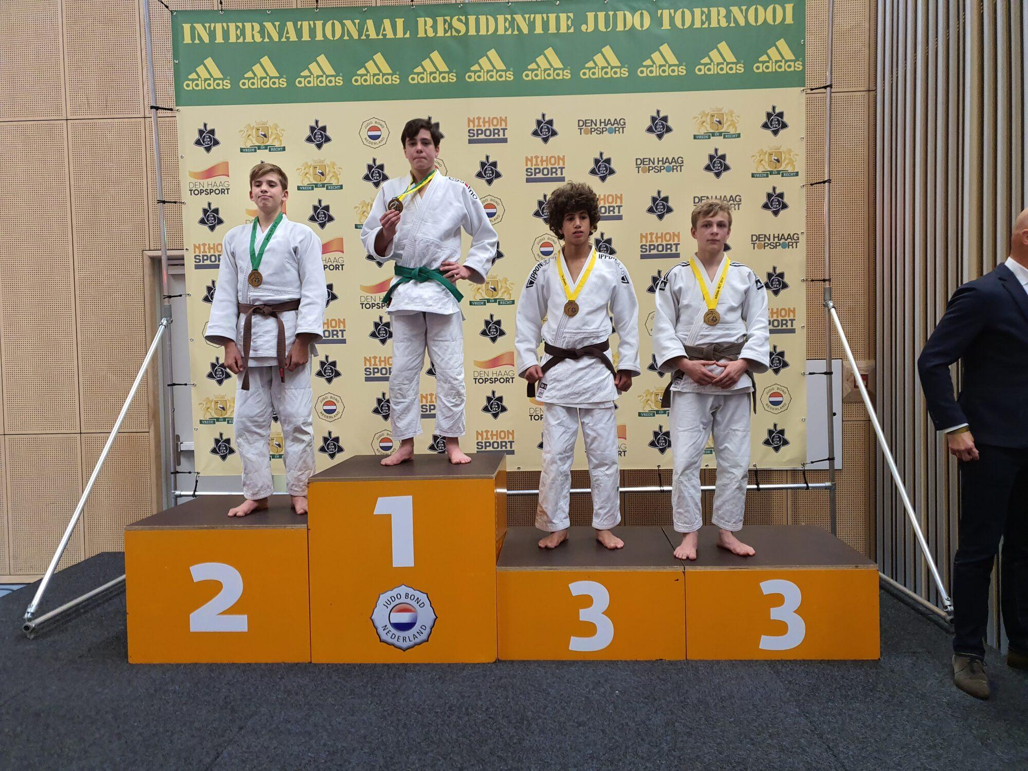 Goud voor judoka Zutphense Pot (