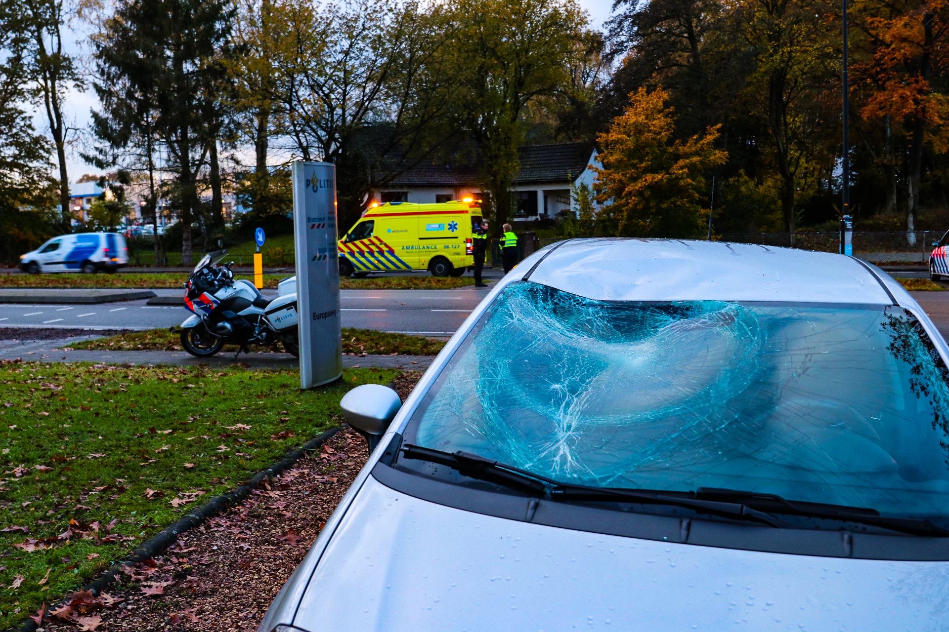 Vrouw aangehouden na ongeval op de Europaweg