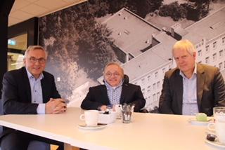 Rick Brink brengt bezoek aan 's Heeren Loo in Apeldoorn