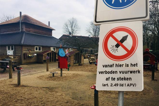 Kinderboerderijen vuurwerkvrij
