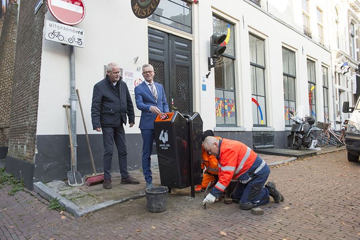 Nieuwe bakken voor schonere binnenstad