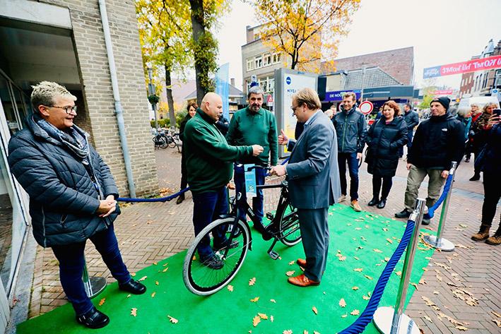 Nieuwe fietsenstalling op ideale locatie