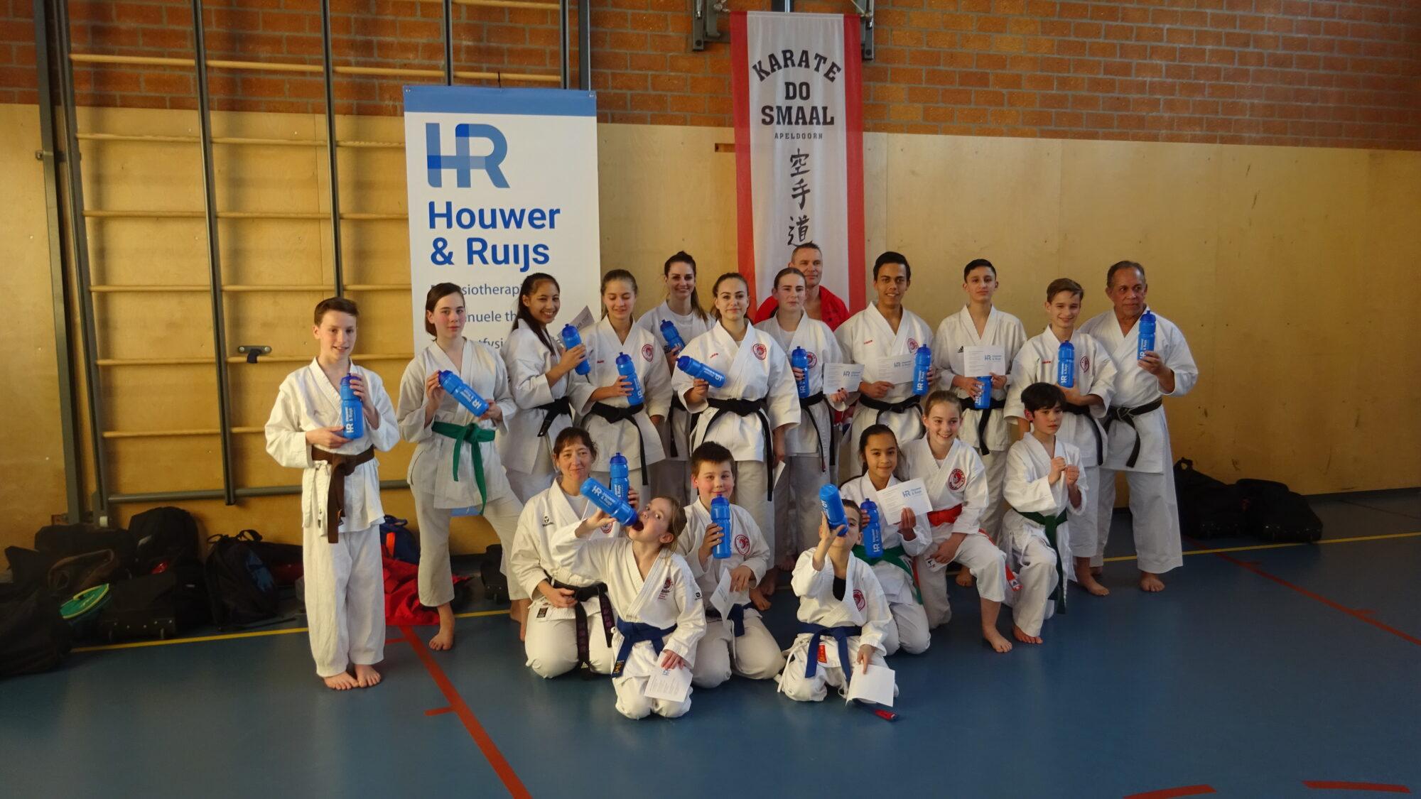Karate-do Smaal behaalt verschillende prijzen tijdens Open de Liège