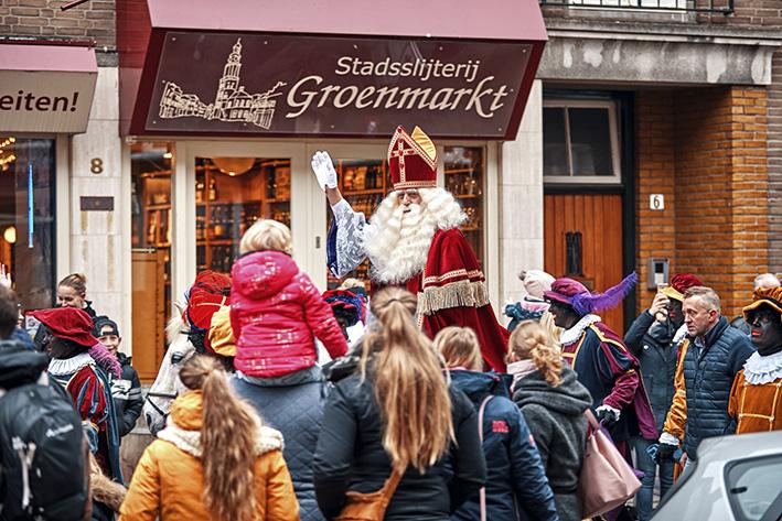 Sint stoomt ook Zutphen binnen