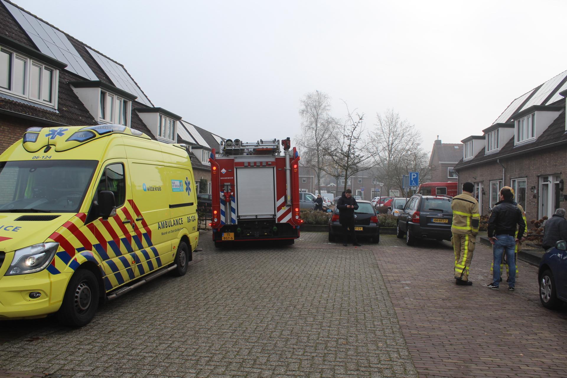 Gewonde bij schuurbrand in Apeldoorn