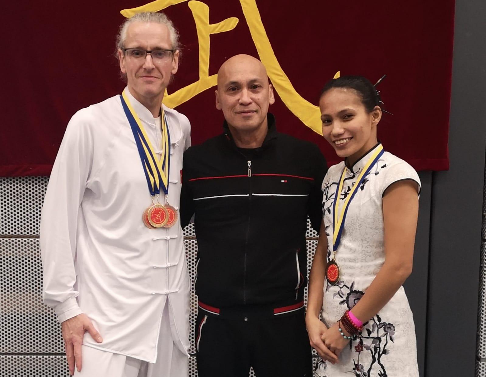 Vijf medailles voor twee Apeldoornse vechtkunstbeoefenaars