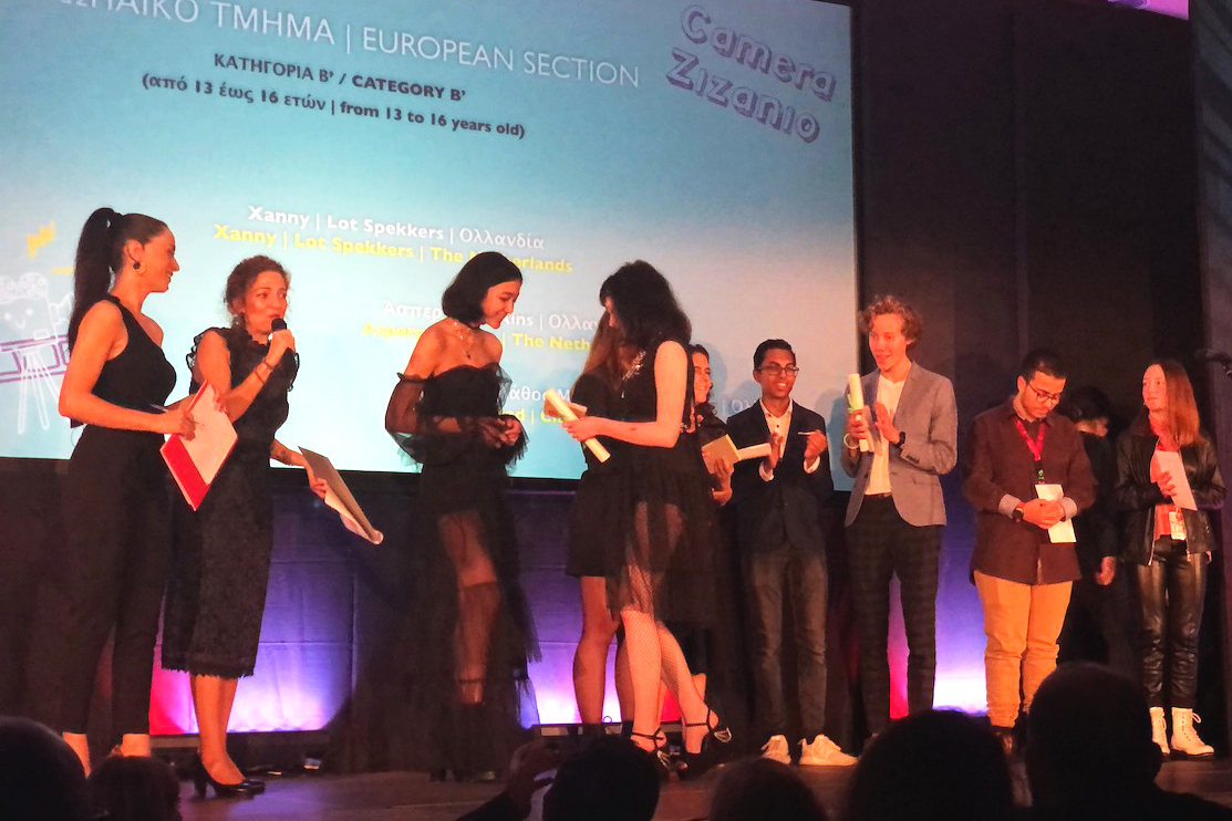 Veluws College Walterbosch pakt 3e prijs op Grieks filmfestival