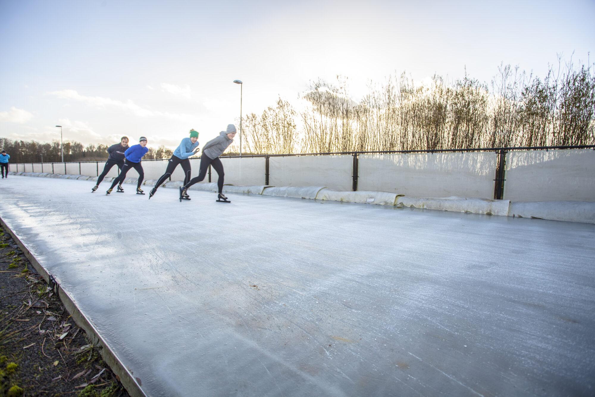 Langste ijsbaan in de open lucht