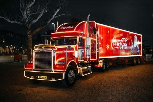 Coca-Cola kersttruck naar Apeldoorn