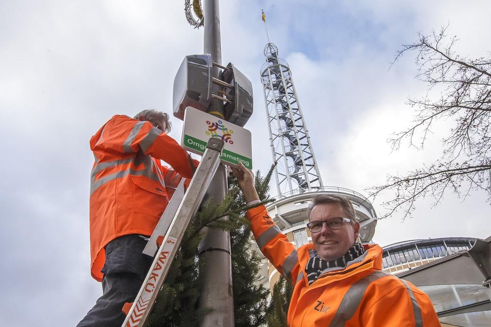Sensoren gaan kwaliteit binnenstad meten