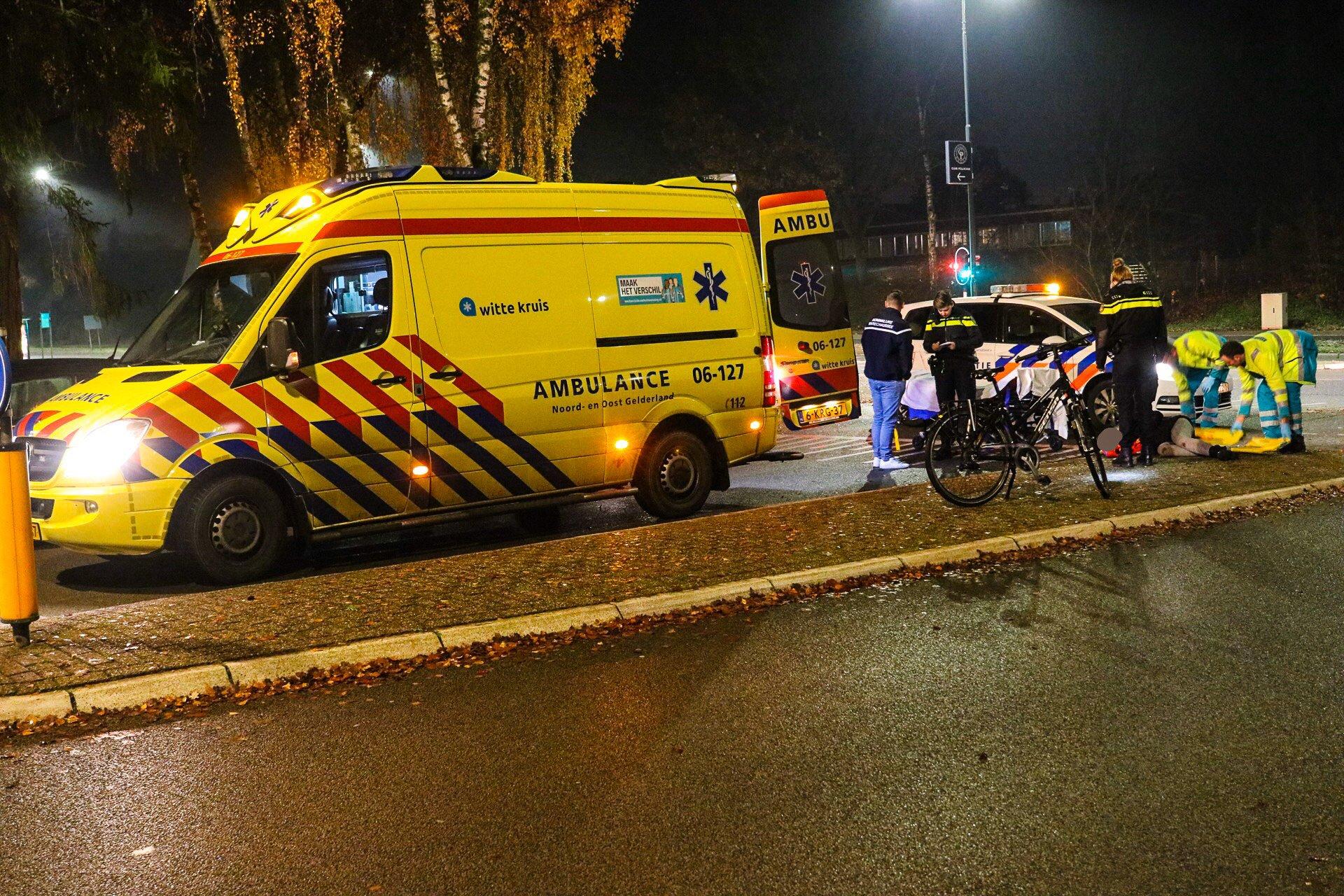 Opnieuw ongeval op de Sportlaan; Fietsster naar ziekenhuis