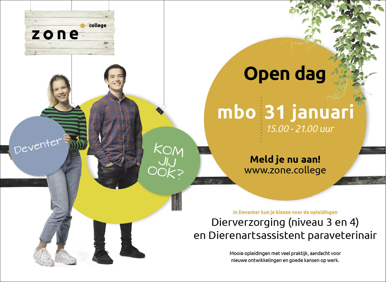 Open dag Zone.college Deventer