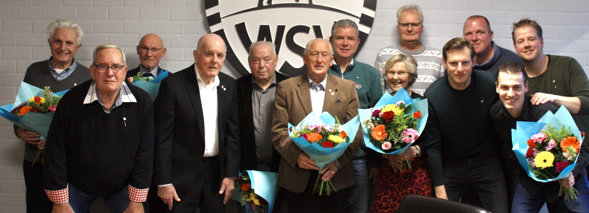 Jubilarissen gehuldigd tijdens nieuwjaarsreceptie WSV
