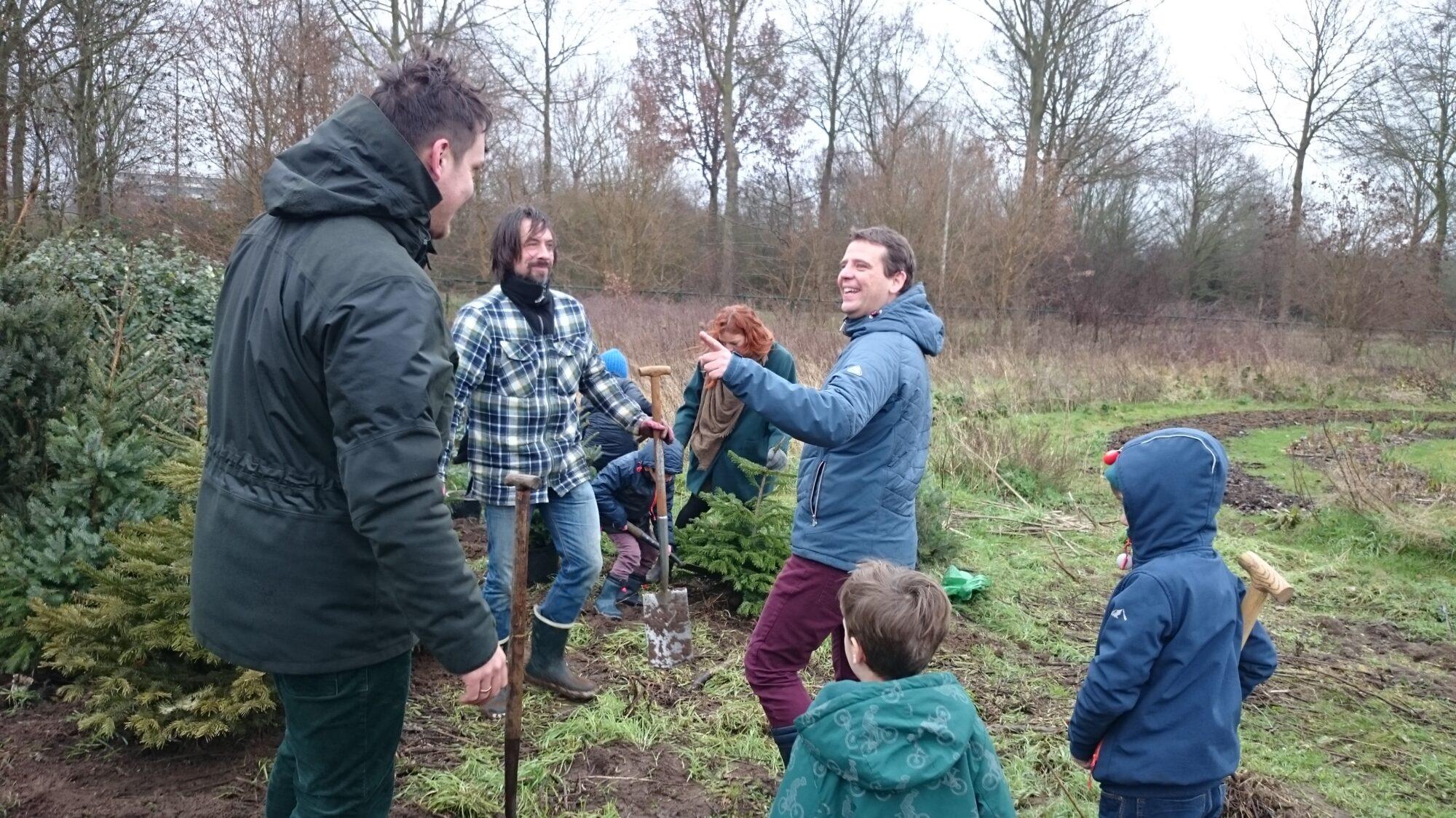 Kerstboomgaard Zutphen volgeplant met meer dan honderd bomen