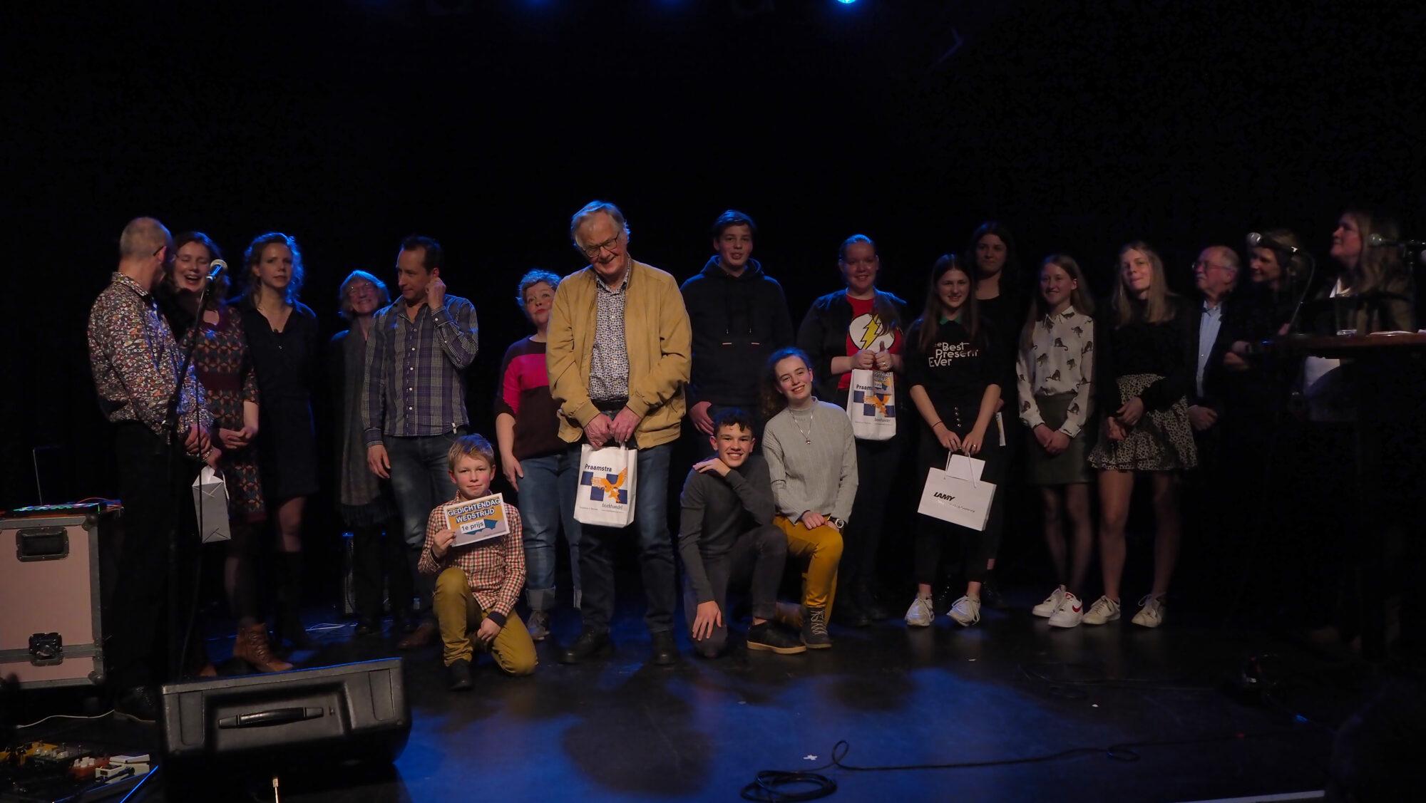 Niels Hartvelt en Lizzy Wagenaar winnen gedichtenwedstrijd in Deventer