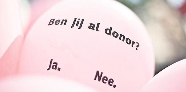 Hoe was het ook weer met de nieuwe donorwet?
