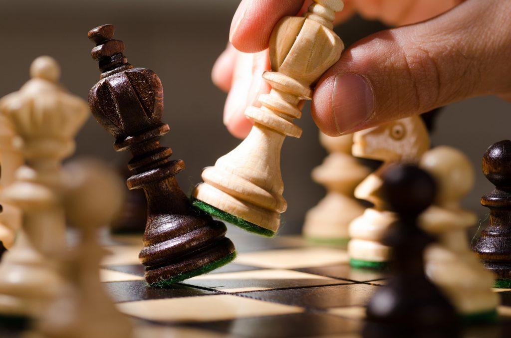 Kroeglopers schaakmat
