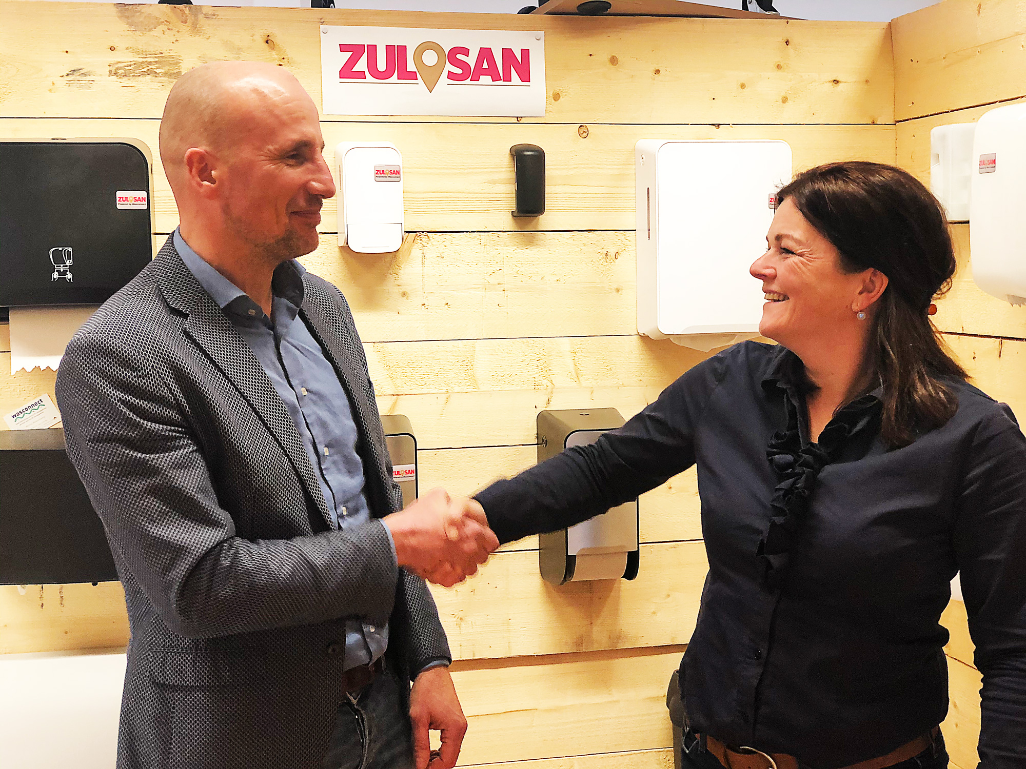 ZuLoSan gaat samenwerking aan met Wasconnect en Anne Flokstraschool