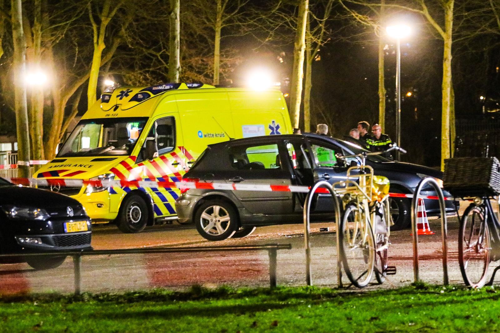 Twee gewonden bij schietpartij op parkeerplaats bij Sporthal Mheenpark
